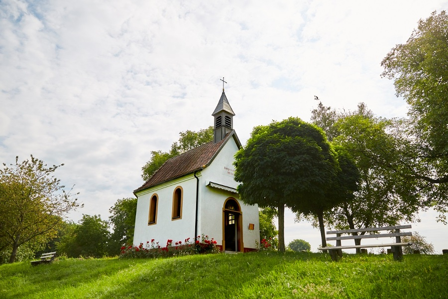 Des Hügels der Kapelle