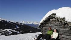 Winterwanderung zur Walder Alm