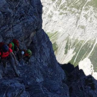 Extremwandern am Selbsanft