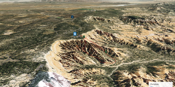 Wanderung in Utah: Navajo Trail im Bryce Canyon - USA