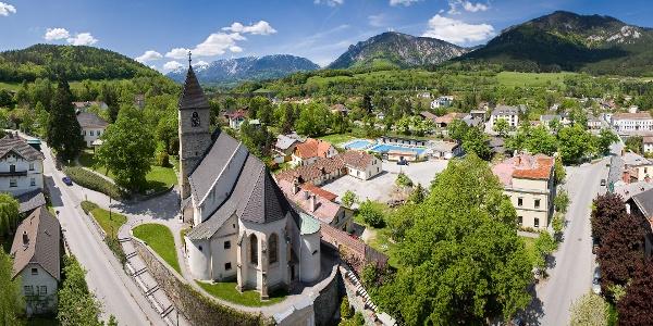 Der Ort Payerbach (Copyright: Wiener Alpen, Foto: Franz Zwickl)