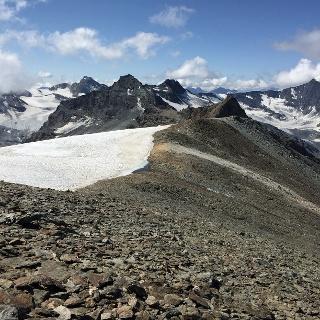 Blick von der Truc Blanc Richtung Südsüdwesten