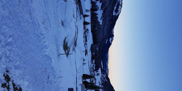 Früh Morgens im Balderschwanger Tal