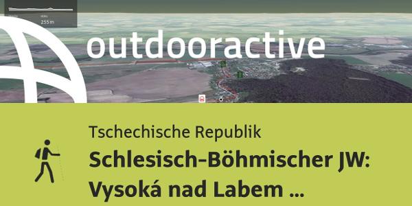 Pilgerweg in der Tschechischen Republik: Schlesisch-Böhmischer JW: Vysoká nad Labem - Pardubice