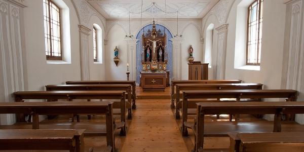 Kapelle im alten Bad Pfäfers