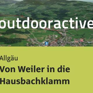 Wanderung im Allgäu: Von Weiler in die Hausbachklamm