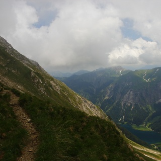 Abstieg vom Gaißhorn