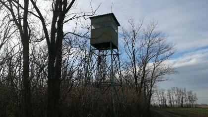 alter slowakischer Grenzwachtturm