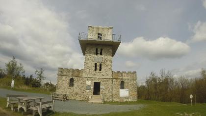 Warte am Geschriebenstein, Summit Burgenland, Bezirk Oberpullendorf