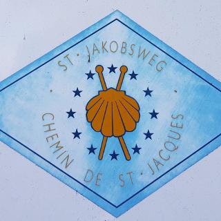 Jakobsweg marker