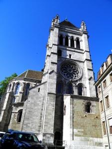 Genf: Kathedrale Saint Pièrre