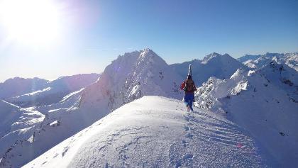 Gipfelgratüberschreitung am Piz Muttala