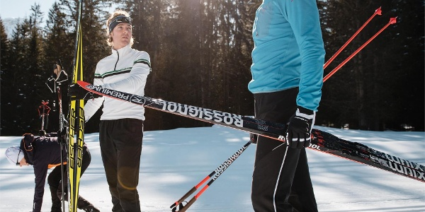 Cross country skiing in Alta Badia