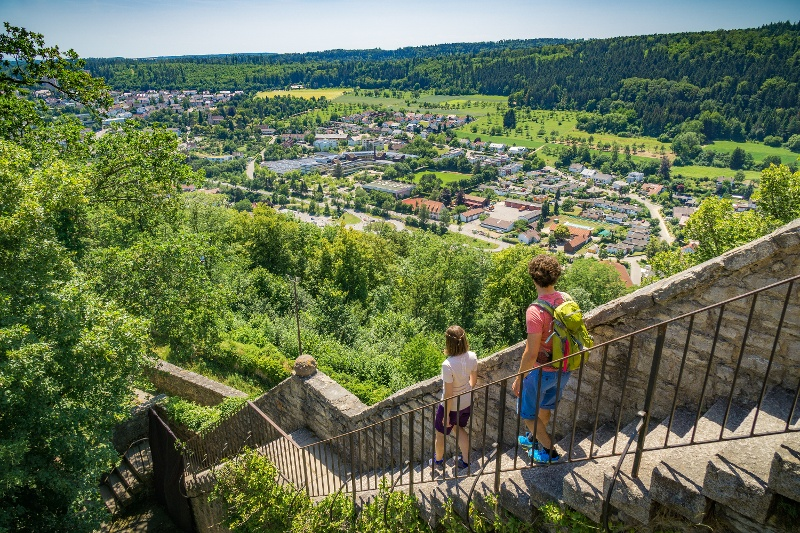 Berge Um Freiburg Karte.Qualitatsweg 7 Berge Weg Rund Um Nagold Urlaubsland Baden