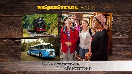 SDG Weißeritztalbahn - Osterzgebirgische Kräutertour