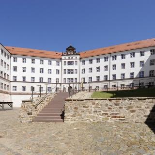 Blick auf die Jugendherberge Schloss Colditz