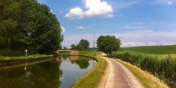 Entlang dem Canal de la Marne au Rhin