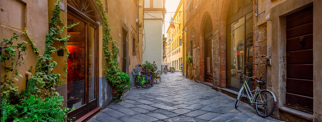 Lucca in Tuscany