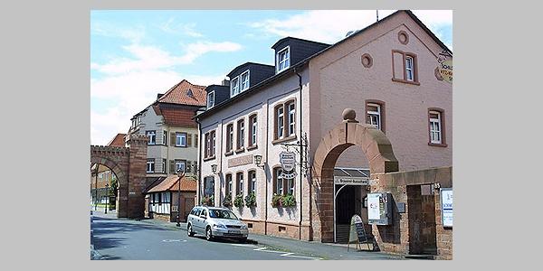 Obernburg Römerhof Außenfassade