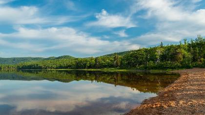 Views of Warren Lake (Cape Breton Highlands National Park)