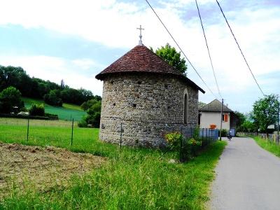 massive Kapelle bei Vieuc Sant-Ondrois