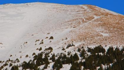 2018-12-31: Der Gruber Hirnkogel vor dem großen Schneefall
