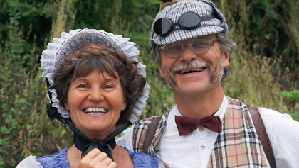 Pia Kugler und Peter Salzmann