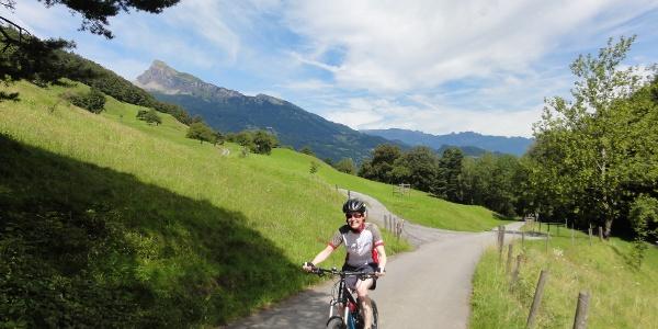 Mountainbike Tour Regizerspitz
