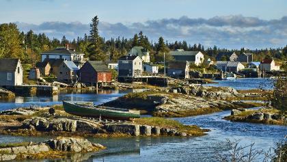 Enjoy biking to the quaint villages of Nova Scotia's South Shore