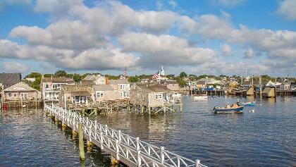 Views of Nantucket Harbor