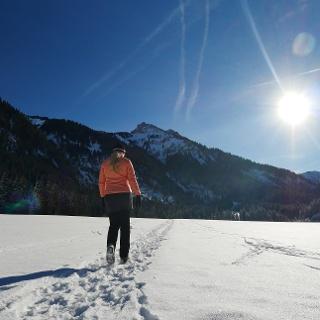 Durch die Winterlandschaft im Tannheimer Tal