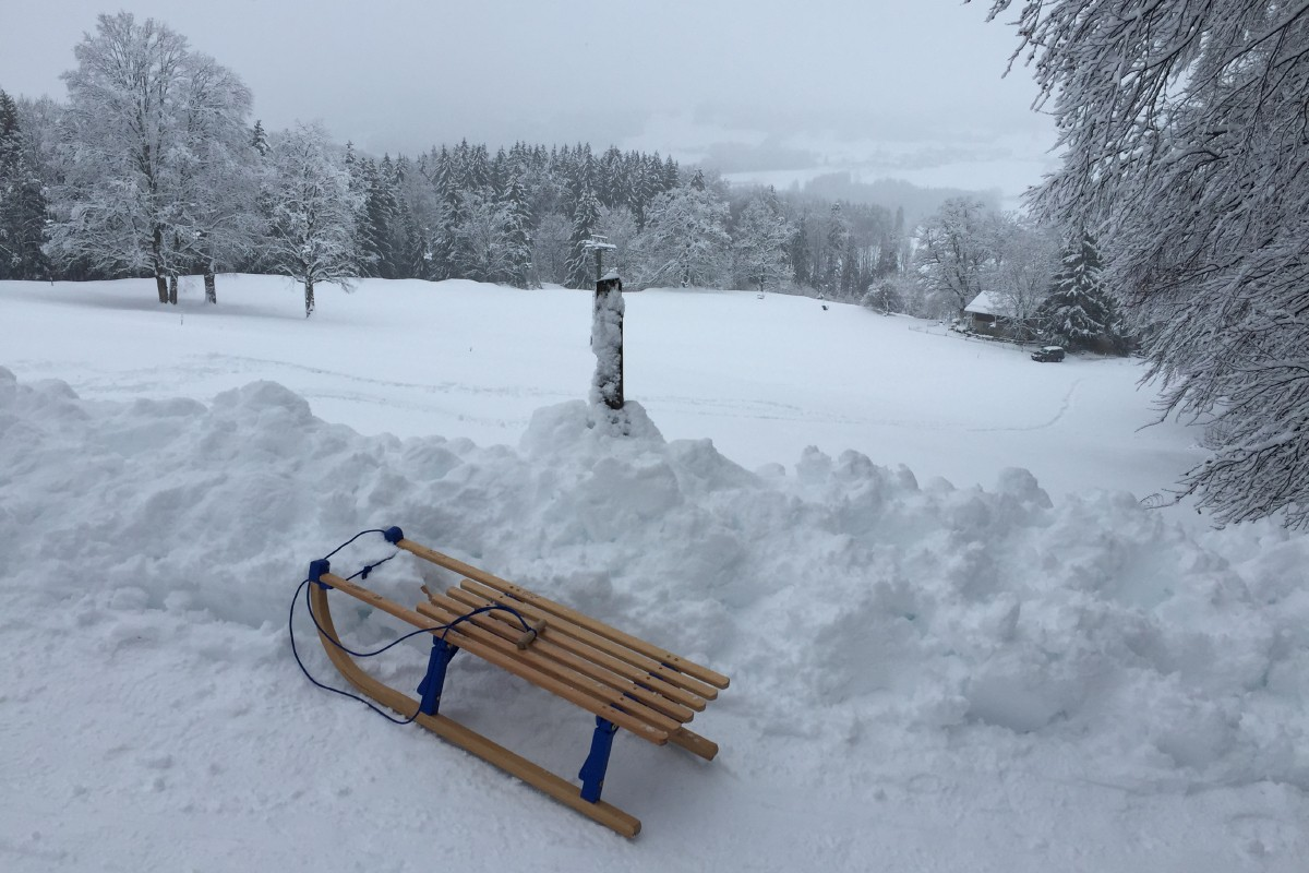 Winterlicher Samerberg