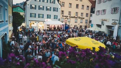 Schindaufest am Schrannenplatz in Füssen