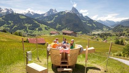 Fondue-Caquelon Schlittmoos Gstaad