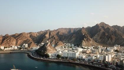 Luftaufnahme von Mutrah