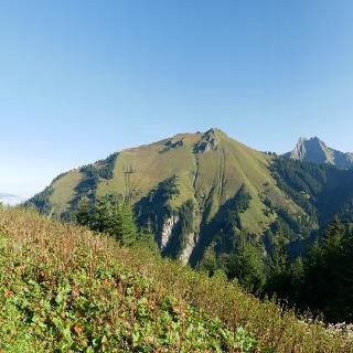Panorama an der Hieren-Alpe