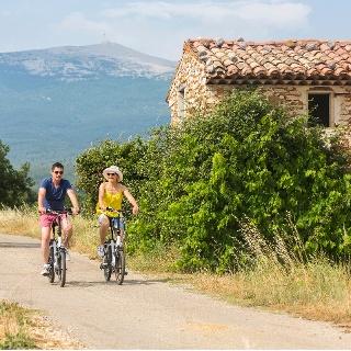 Auf dem Rad rund um den Mont Ventoux