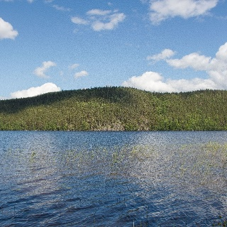 Vaarunvuoret from Lake Päijänne