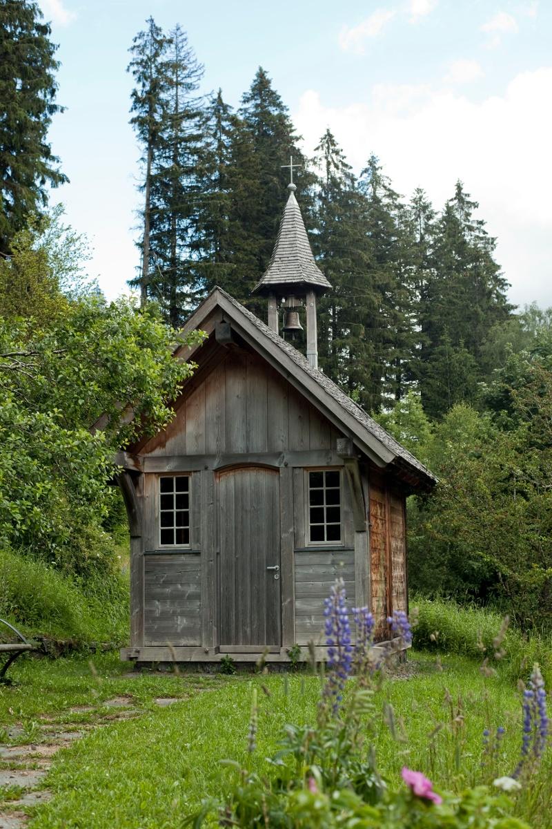 Hofkapellen im malerischen Bärental
