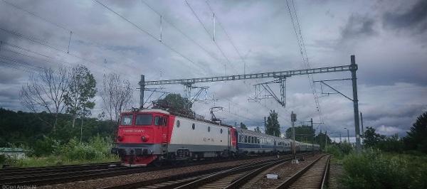 Zugfahrt in Rumänien