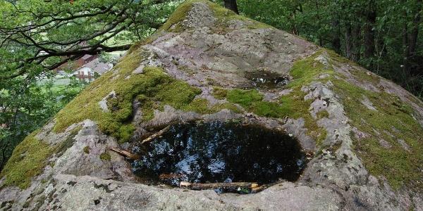 Schalenstein beim Steinheiligtum