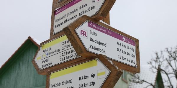 Bármerre indulsz Nagykovácsiban, turistautat találsz