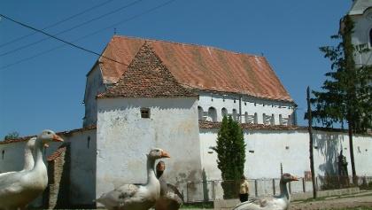 Exterior view Biserica fortificată din Dârjiu