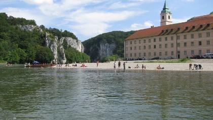 Kloster Weltenburg am Donaudurchbruch bei Kelheim im Altmühltal