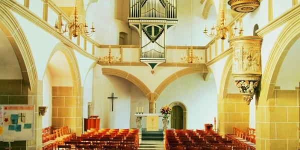 Schlosskirche Innenansicht