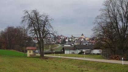 Blick nach Leonberg