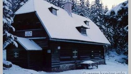 Hauereckhütte im Winter 1989/1990