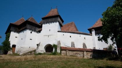 Southeast wall, Viscri