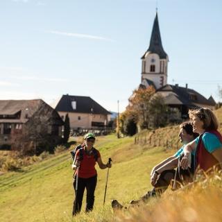 Kirche Zammelsberg, Wanderer