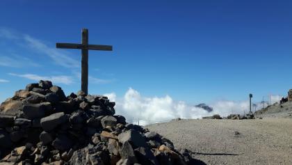 Gipfel des Pico de la Nieve 2.239m